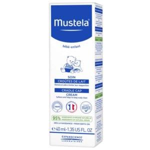 Детский крем для кожи головы Mustela при «молочных корочках» фото