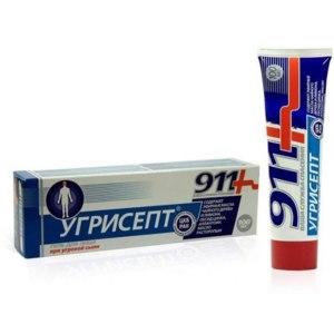 Гель для лица 911+ Угрисепт при угревой сыпи фото