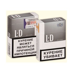 Ld silver сигареты купить производство табачных изделий акцизы