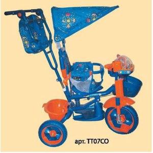 Детский велосипед ЧИЖИК ТТ07СО фото