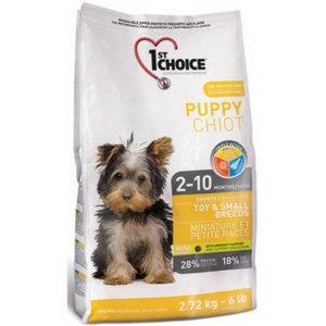 1st choice Для щенков миниатюрных и малых пород (Puppy Toy&Small Breeds)  фото
