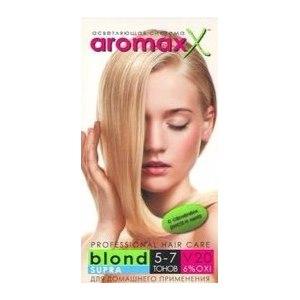 Краска для волос Блонд Supra Осветляющая система AromaxX с семенем гороха и пшеницы фото