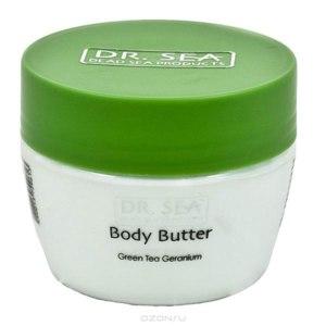 Масло для тела Dr. Sea для предотвращения старения с экстрактами зеленого чая и герани фото