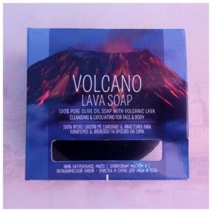 Натуральное мыло Demetriades Volcano lava soap с оливковым маслом и вулканической лавой фото