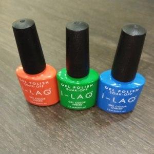 Гель-лак для ногтей I-LAQ GEL POLISH SOAK-OFF  фото