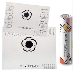 Силиконовый коврик для дизайна ногтей Aliexpress NICOLE DIARY Silicone Nail Art Stamp Stamping Mat Foldable Washable Work Space Pad Nail Manicure Tool 3 Patterns Available фото