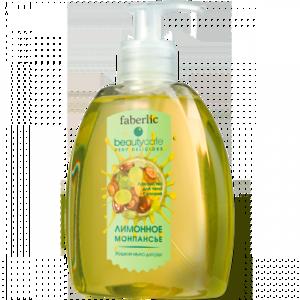 """Жидкое мыло Faberlic """"Лимонное монпансье"""" серии Beauty cafe фото"""