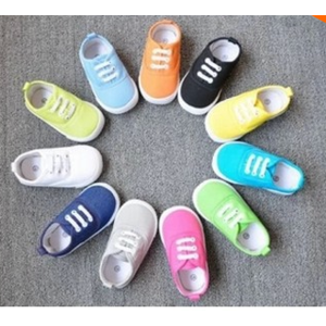 Кеды Aliexpress 8 sizes Insole 13-16.8cm children canvas shoes kids sneakers for boys and girls shoes фото