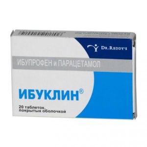 Средства д/лечения простуды и гриппа Dr. Reddy's Ибуклин для взрослых фото