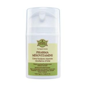 Крем для лица GREEN PHARMA MESOVITAMINE (с витаминами для сияния и тонуса кожи) фото