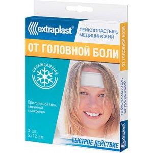 Пластырь ЭКСТРАПЛАСТ от головной боли фото