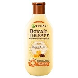 """Шампунь Garnier """"Botanic Therapy. Прополис и маточное молоко"""" для очень поврежденных и секущихся волос фото"""