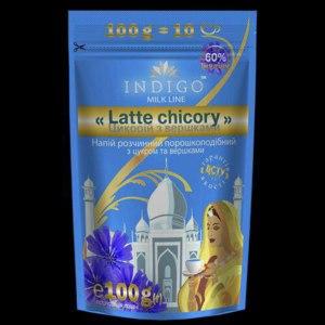 "Напиток из цикория Indigo ""Latte chistory"" со сливками и сахаром фото"