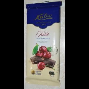 Шоколад Kalev Kirsi тёмный с вишней фото