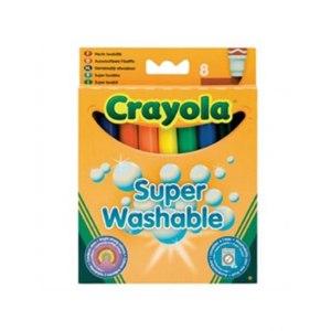 Crayola Super Washable - смываемые фломастеры, 8 шт. фото