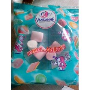 Зефир жевательный VAN DAMME Fix Price ванильный фото