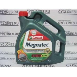 Автомасло Castrol 5w40 Magnatec A3/B4 4л синтетическое фото