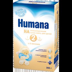 Детская молочная смесь Humana HA 2 фото