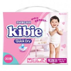 Подгузники-трусики Kibie Quick dry фото