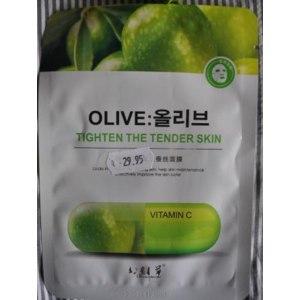 Тканевая маска для лица Ningbo витамин С и экстракт оливки фото