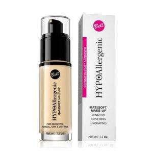 Тональный флюид Bell Hypoallergenic Mat & Soft Make-up фото
