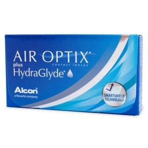 Контактные линзы Alcon AIR OPTIX plus HydraGlyde фото