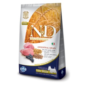 Корм для собак Farmina Natural&Delicious (N&D) Low Grain Lamb&Blueberry Ягненок и черника низкозерновой фото