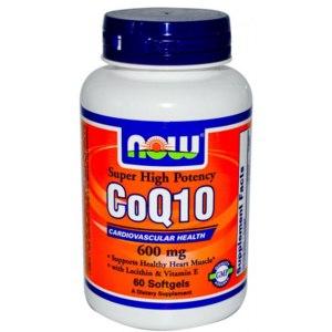 БАД Now Foods CoQ10 60 mg (Коэнзим Q10) фото
