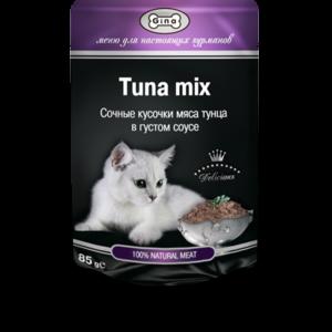 Корм для кошек GINA Tuna Mix фото