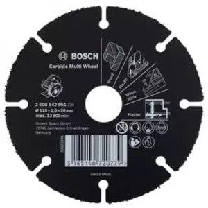 Универсальный отрезной круг Bosch Multi Wheel 125 мм по дереву  фото