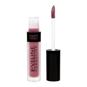Жидкая губная помада Eveline MATT MAGIC LIP CREAM  фото