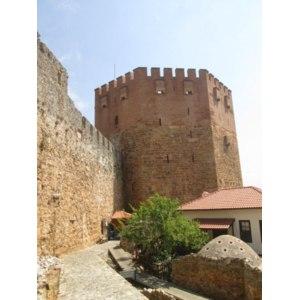 Кызыл Куле (Красная башня), г. Аланья, Турция фото
