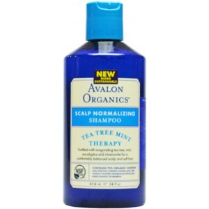 Шампунь от перхоти Avalon Organics Tea  tree mint therapy scalp normalizing shampoo фото
