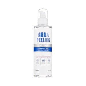 Тонер A'pieu Aqua Peeling AHA toner + AHA 1% & BHA + Lime extract 10% фото