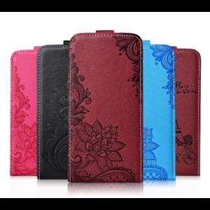 Чехол для смартфона Aliexpress Case For Xiaomi Redmi 8 8A 7 7A 6 6A Note 8 8T 7 6 Pro Mi A3 CC9e TPU Cover Flip Leather Cover Cute Vertical 3D Flowers Cases фото