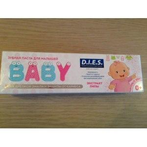 Зубная паста D.I.E.S. Baby 0+ с экстрактом липы фото