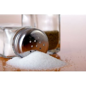 Соль поваренная фото