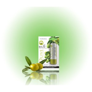 Бальзам для губ Verona С витамином Е, оливковым и маслом ши фото