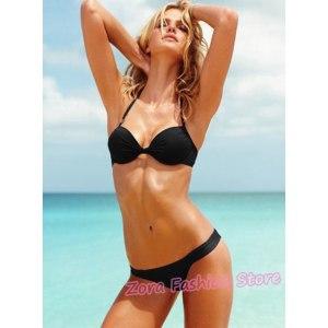 Купальники AliExpress VS Brand Women Bikinis Padded Bandeau Push Up Swimwear фото