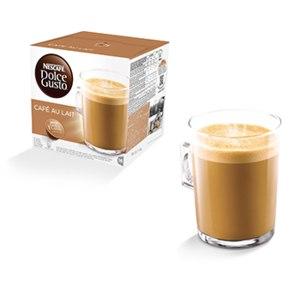 КАПСУЛЫ для кофе-машин с капсульной системой Dolce Gusto Кофе с молоком / cafe au lait фото
