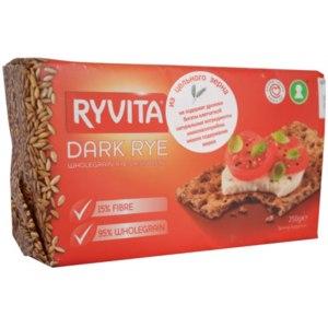"""Хлебцы RYVITA ржаные из цельного зерна """"Dark Rye"""" фото"""