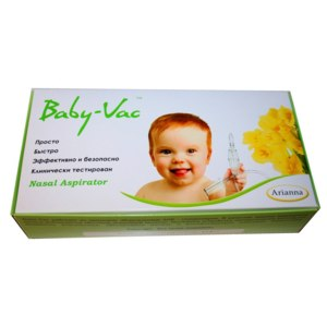Аспиратор Baby-Vac назальный для детей фото