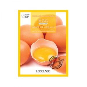 Тканевая маска для лица Lebelage Egg Natural Mask фото
