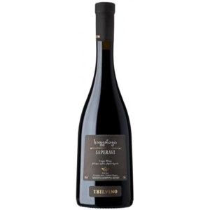 Вино красное сухое Tbilvino Saperavi фото