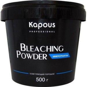 Осветляющий порошок Kapous Bleaching Pawder микрогранулы фото