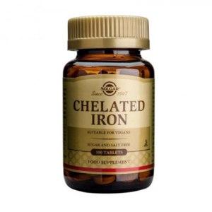 БАД Solgar Chelated Iron Железо фото