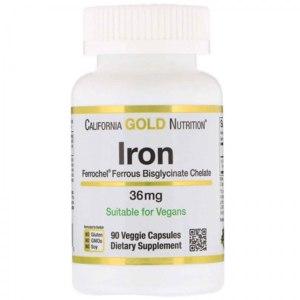 БАД California Gold Nutrition Iron фото
