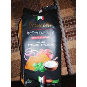 Крекер Scrocchi ТМ De Luxe Foods & Goods Selected с томатом и травами фото