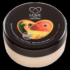 Масло для тела Love 2 mix organic манго + папайя  фото