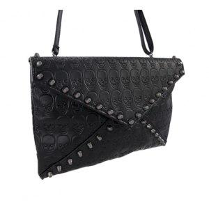 Сумка-клатч Aliexpress Skull Clutch Envelope Handbag Casual Purse Bag for Girls Shoulder Bag Women-Bag фото